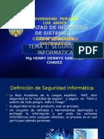 Clase1,2,3,4 Seguridad Informatica