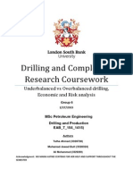 Drilling and Completion Research Coursework