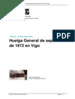 Vigo 1972 Huelgas obreras