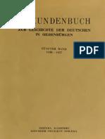 Urkundenbuch - Vol. 5