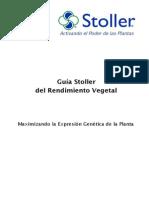 Guía Stoller de Rendimiento Vegetal 2015 (Textos)