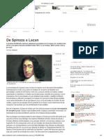 De Spinoza a Lacan