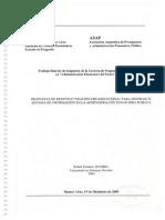 Propuesta de Reestructuración Organizacional para Mejorar el Sistema de Información en la Administración Financiera Pública.