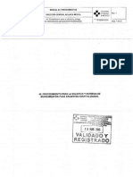 Procedimiento 45 DGAM Solicitud y Entrega de Medic Sellado 30Marzo2015
