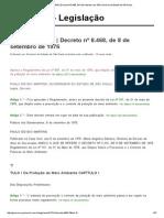 Decreto 8468_76 _ Decreto Nº 8