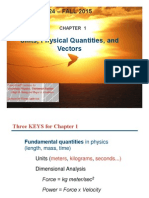 01-Chapter 01 _ Units, Physical Quantities, And Vectors