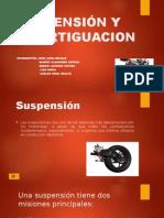 Suspensión y Amortiguacion