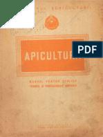Apicultura - Manual Pentru Scolile Tehnice Si Profesionale Agricole - 1952 - 363 Pag