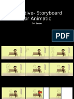 Narrative- Storyboard for Animatic