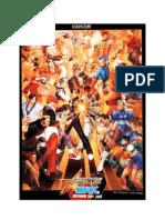 Capcom vs SNK 2, move list