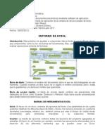 Entorno de Excel