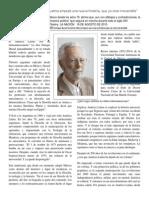 Entrevista a Enrique Dussel  (08/2015)