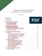 American English Consonants