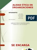 Calidad Ética Organizacional