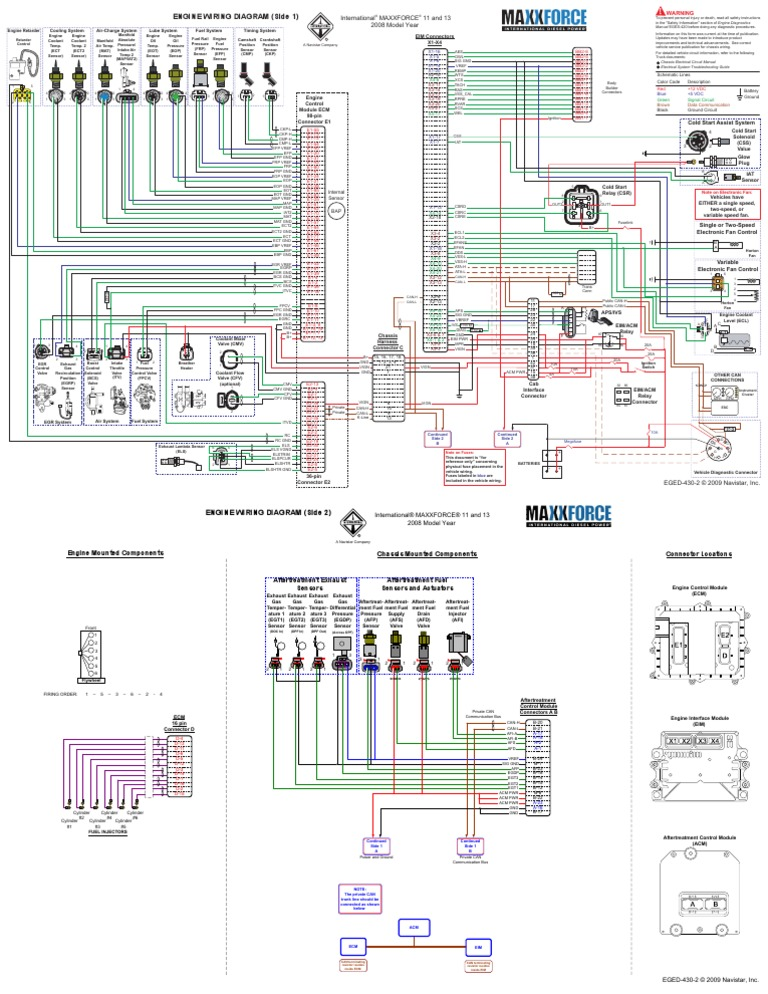 Maxxforce Wiring Diagram | Wiring Diagram on