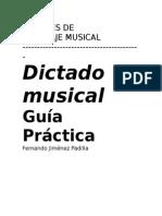 Dictado Musical y Practica Indice