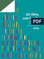 Un libro, una huella - Guía de literatura, libros y lecturas para niños y jóvenes