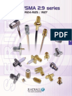 Catalogue Radiall SMA Connectors
