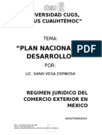 Plan Nac de Desarollo