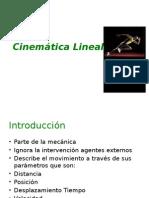 Cinemática Lineal