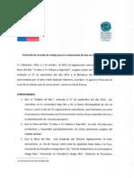 Protocolo de acuerdo de trabajo para la conservación del mar en Isla de Pascua