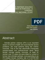 Fatal Intimate Partner Violence Against Women in Portugal