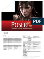 Poser Pro 2012 Reference Manual