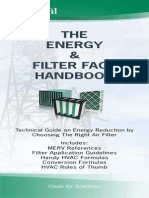 Energy and Air Filter Fact Handbook