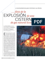 Analisis Explosion Cisterna GLP
