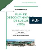 Plan de Descontaminacion de Suelos (PDS)