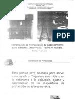 Coordinación de Protecciones de Sobrecorriente Para S. Industriales