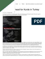 Dark Days Ahead for Kurds in Turkey