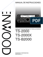 Manual Kenwood TS 2000 Spanish.