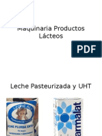 Maquinaria Productos Lácteos