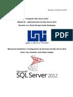 Manual de Instalacion y Configuracion SQL Server 2012 - Armando Alaniz