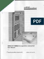 SR03-01NMEA to synchro converter  user manual(REPEATER).pdf