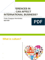 How Differences in Culture Can Affect International Business