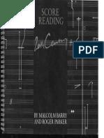 Score Reading - Barry Parker