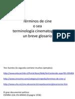 Términos-De-cine1 Diccionario GUION PADID 2015