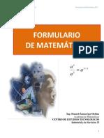 106439451 Formulario de Matematicas Aplicadas