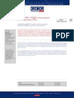 La ISO 9001 y TQM en Las Empresas