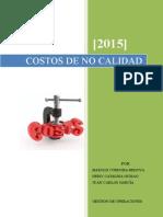 Informe Costos de No Calidad (Harold C, Deisy G, Juan G)