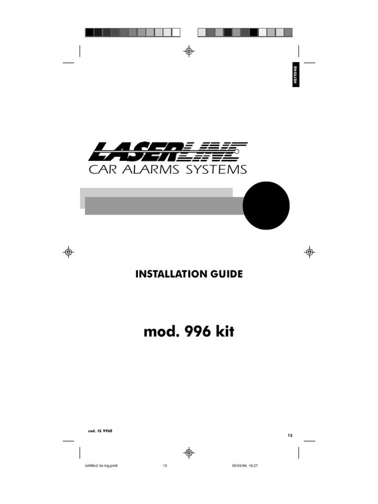 [SCHEMATICS_4PO]  laserline alarm mod 996 | Remote Control | Switch | Laserline Car Alarm Wiring Diagram |  | Scribd