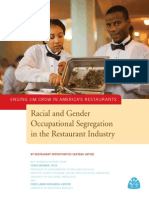 Ending Jim Crow in America's Restaurants