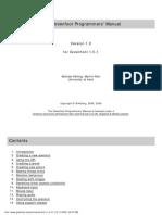 Greenfoot Programmers' Manual Script