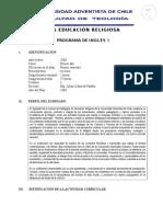 Ingles i - Programa 2008