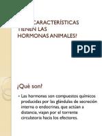 Hormonas en Los Animales-Biologia I