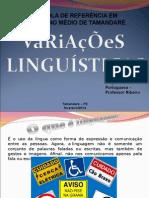 Aula de Variações Linguísticas