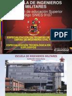 Especialización Voladuras y Especialización Explosivos