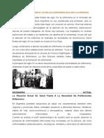 Contextualización Histórica y Actual de La Enfermeria en El Pais y La Provincia